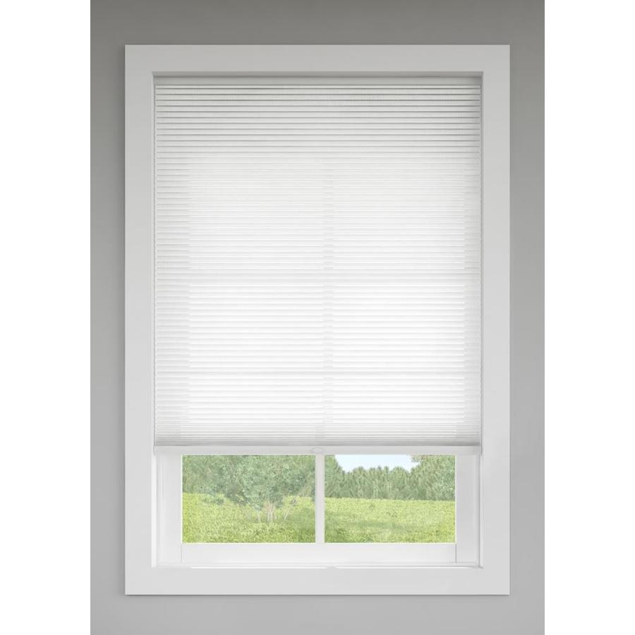 window shade levolor snow light filtering cordless polycotton cellular shade (common:  24-in; actual IMLBYNH