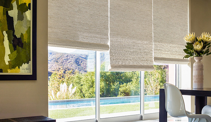 window shade waterfall woven wood shade | seaview | seaview-8 XBOVKLS