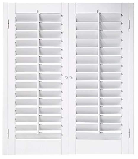 window shutters amazon.com: interior shutter kit 2 1/4 OIQHQUT