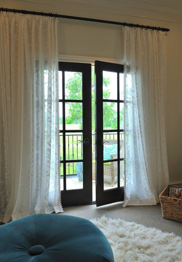 window treatments for french doors 1. whimsy u0026 light. PZQQTCY