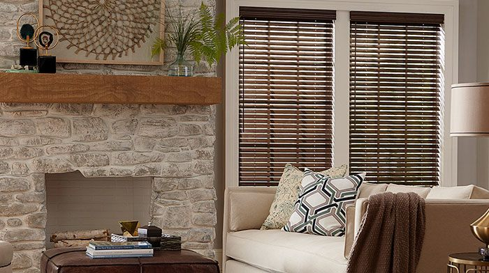 Make it a Natural Fit for your windows by using wood blinds