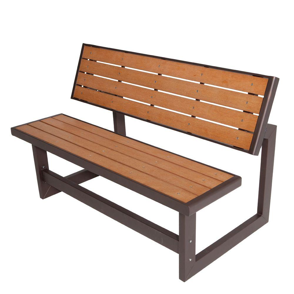 wood outdoor furniture convertible patio bench UOYAZWO