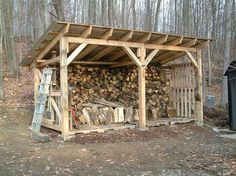 wood shed how to build a woodshed -