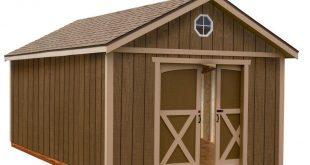 wood storage sheds best barns north dakota 12 ft. x 16 ft. wood storage shed WVHADSG