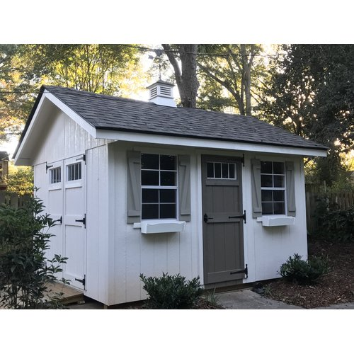 wood storage sheds ez-fit sheds riverside 10 ft. w x 12 ft. d wood storage RYRNIBQ