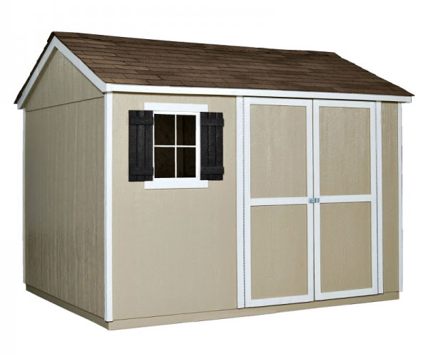 wood storage sheds handy home avondale 10x8 wood storage shed w/ floor JDSANQT