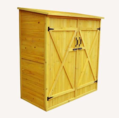 wood storage sheds leisure season 5x3 medium wood