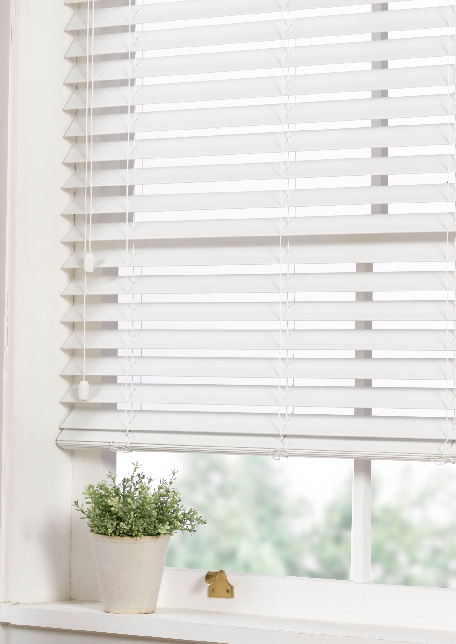 wood venetian blinds faux wood venetian blind white QVQEKXO
