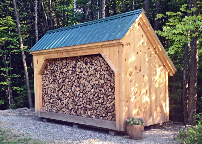 woodbin 6x | wood shed plan | jamaica cottage shop FXLEGZF