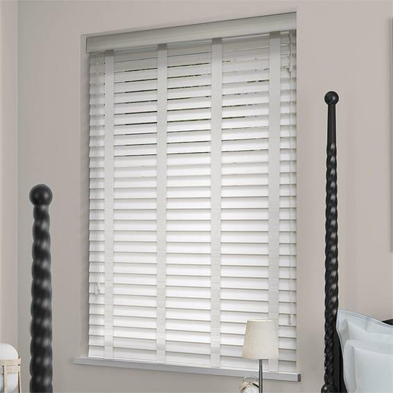 wooden blinds soft white u0026 linen wooden blind