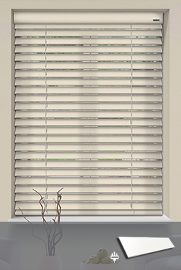 wooden blinds soft white WCQTCAN