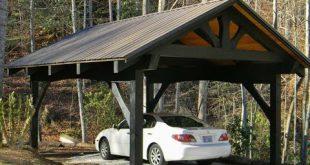 wooden carports carport ideas | building your own wood carport VDMQPRZ