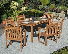 wooden garden furniture sets quality hardwood garden furniture YYXCZYT