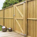 wooden garden gates BLLXNNR