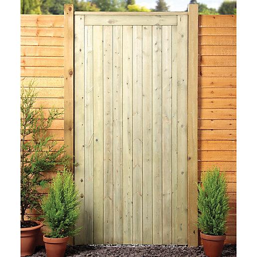 wooden garden gates wickes framed ledged u0026 braced flat top timber gate - 915 x AMVZWJP