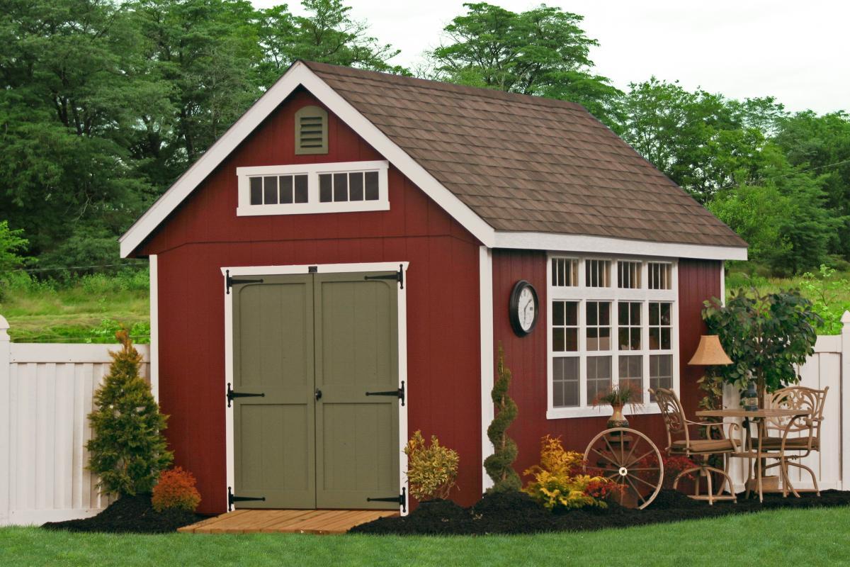 wooden outdoor garden sheds GURTFFP