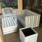 wooden patio furniture pallet wood patio furniture set