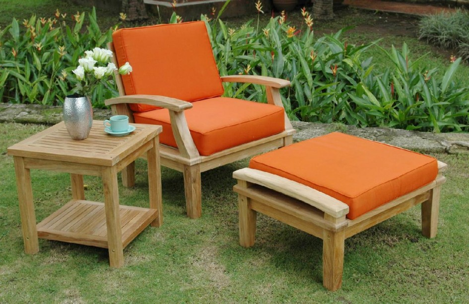wooden patio furniture wooden patio chairs BXMXJNU