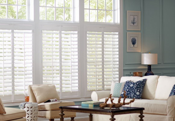 wooden shutter blinds faux wood plantation shutters SHBGVKD