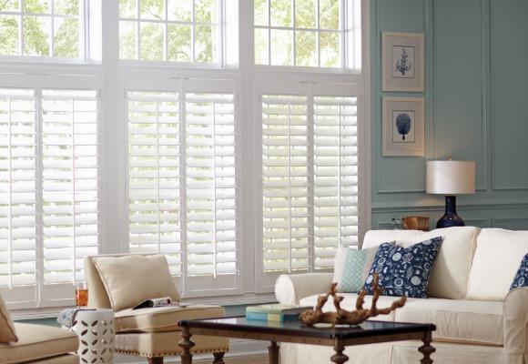wooden shutter blinds faux wood plantation shutters SHBGVKD