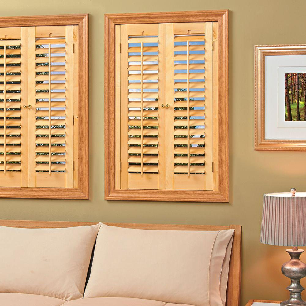 wooden shutters this review is from:plantation light teak real wood interior shutter (price SPRJMWN