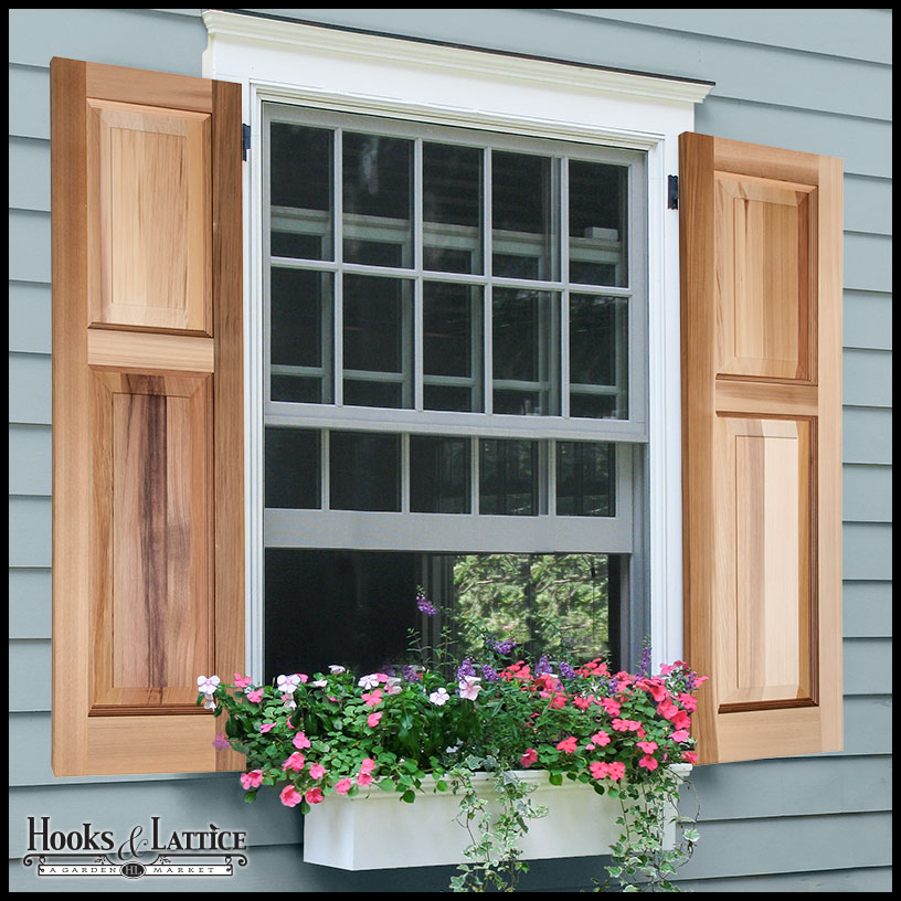 Install Wooden Shutters For Your Home Decorifusta