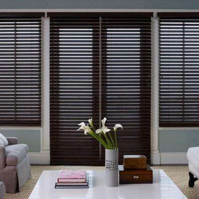 wooden window blinds wood ... ADBFXPJ