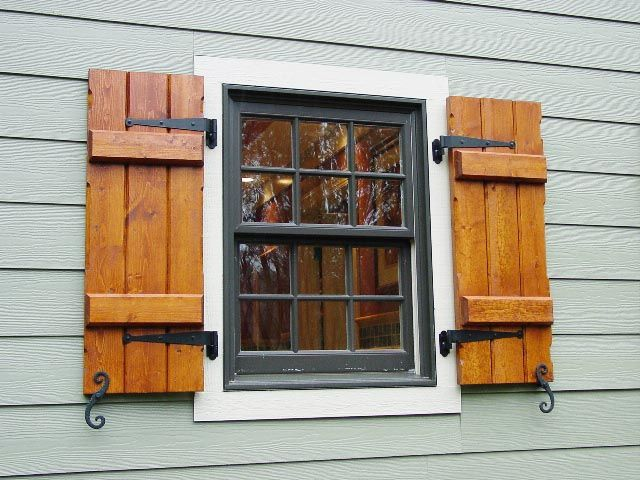 wooden window shutters exterior wood shutters | decorative, provide privacy u0026 safety PKKQYBG