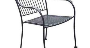 wrought iron chairs chelsea outdoor wrought iron chair XHWUHTV