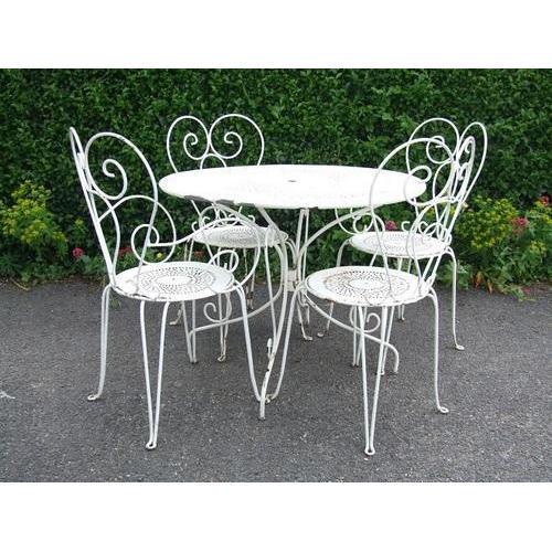 wrought iron furniture KSBQTDU