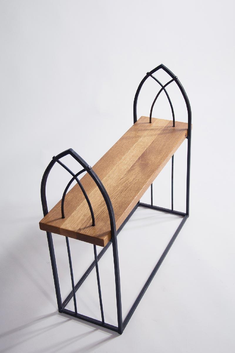 wrought iron furniture wrought iron bench u201cgothicu201d HDUVEGJ