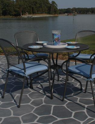 wrought iron patio furniture carlo collection DSCZPWC