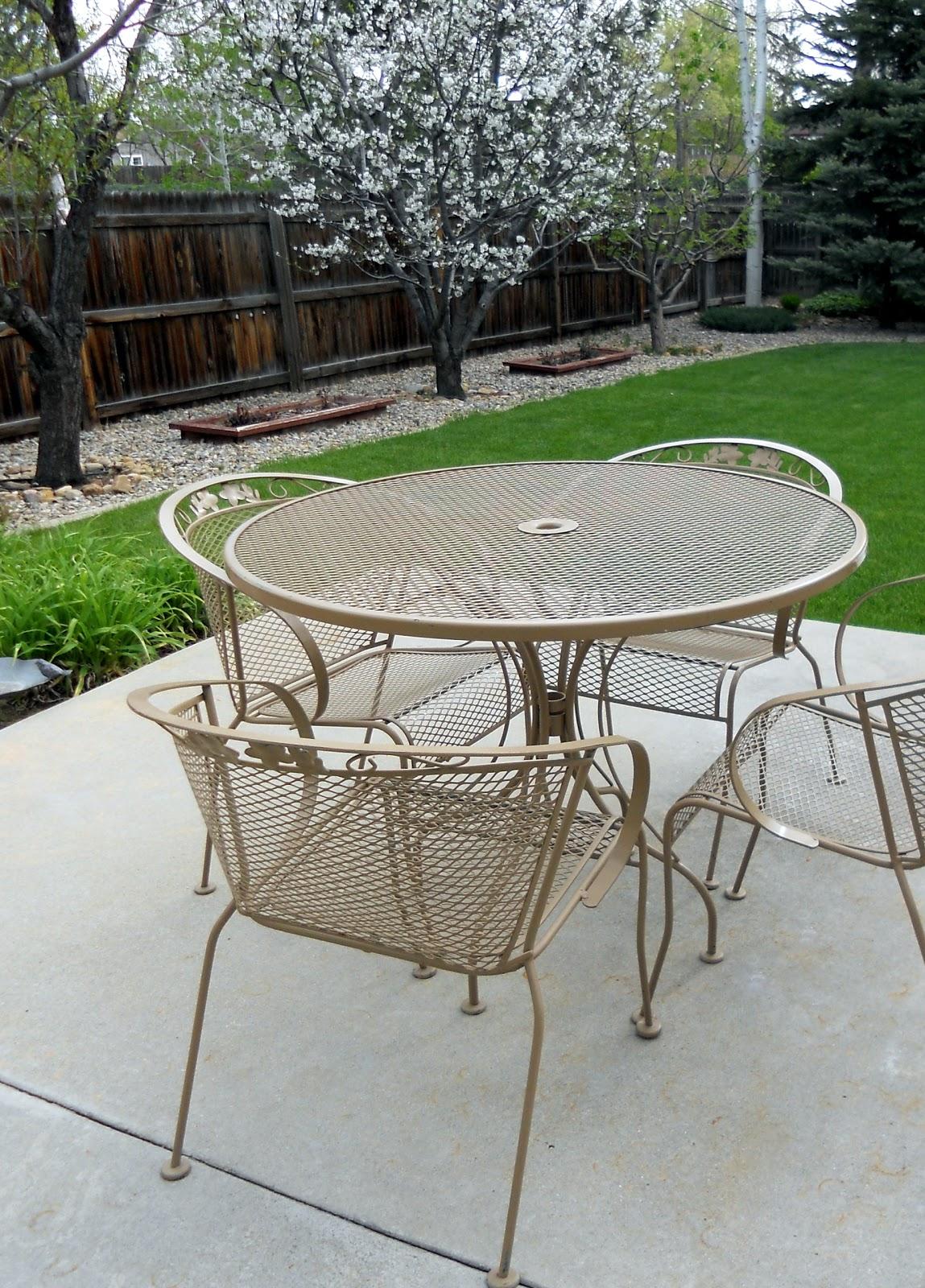 wrought iron patio furniture refurbishing wrought iron furniture. TBVTKWL