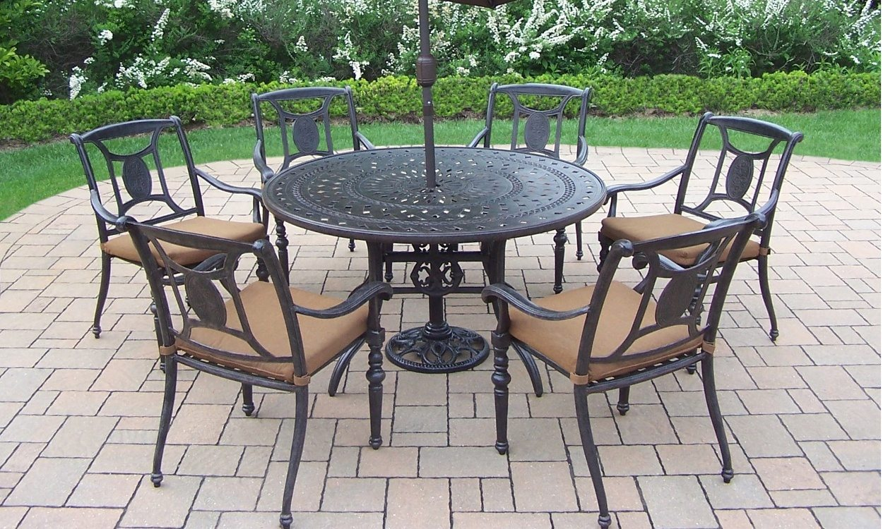Wrought Iron Patio Set How To Clean Wrought Iron Patio Furniture BESAMWA