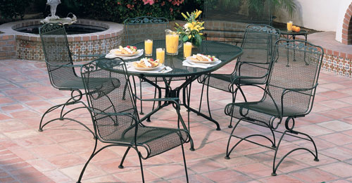 wrought iron patio set wrought iron patio furniture a detailed study about the YHNDGEC