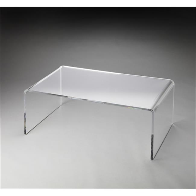 Crystal Clear Acrylic Cocktail Table - Walmart.com