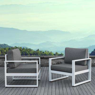 Acrylic - Reversible - Aluminum - Outdoor Lounge Furniture - Patio