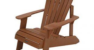 Amazon.com : Lifetime Faux Wood Adirondack Chair, Brown - 60064