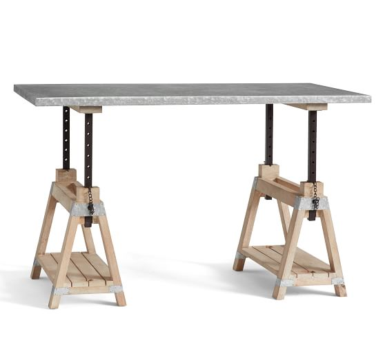 Jackson Adjustable Desk | Pottery Barn