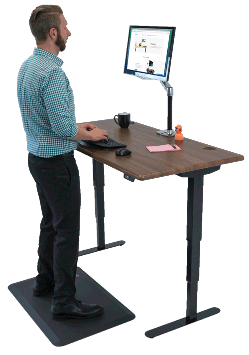 Shop Standing Desks, Sit-Stand, Stand Up, and Adjustable-Height