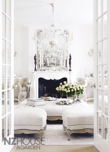 64 White Living Room Ideas | My home | All white room, Living room