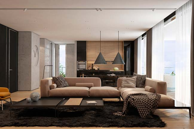 Apartment Living Dining Room Ideas Suitable Combine With Living Room