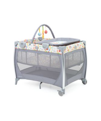 mothercare bassinet travel cot with changer and sounds unit - hello