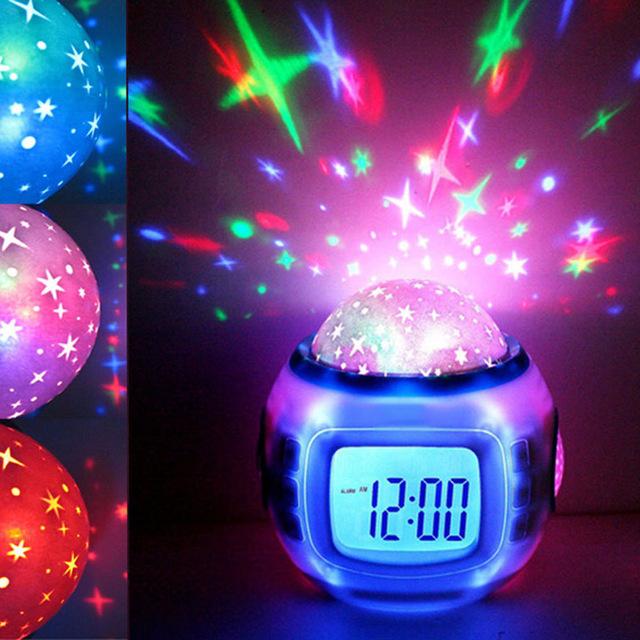 Sky Star Children Baby Room Night Light Projector Lamp Bedroom Music