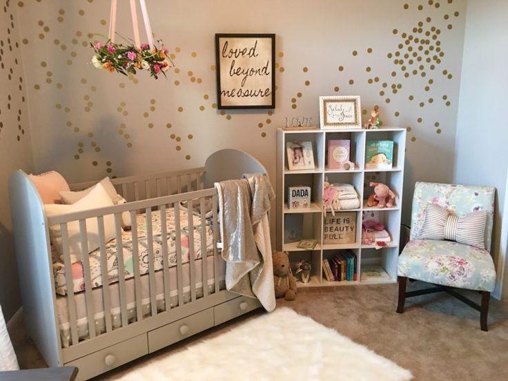 A Serene and Calming Nursery for Selah Grace | Baby Girl Nursery