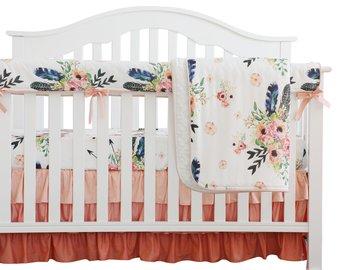 Baby crib bedding   Etsy