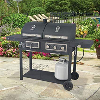 Amazon.com : Backyard Grill Gas/Charcoal Grill : Garden & Outdoor
