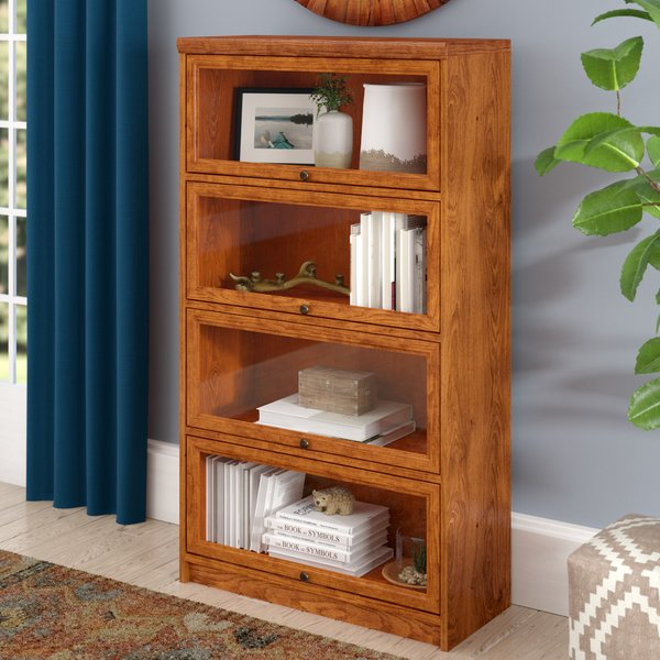 Loon Peak Lapierre Barrister Bookcase & Reviews | Wayfair