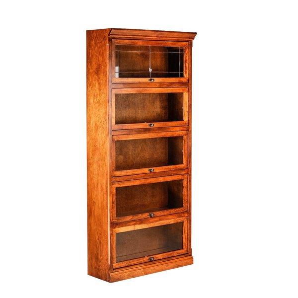 Millwood Pines Torin Legal Barrister Bookcase & Reviews | Wayfair