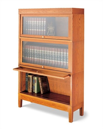 Hale Bookcases 800 Sectional Series Deep Barrister Bookcase | Wayfair